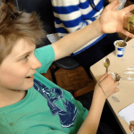 Slime making at Fun Science holiday club Bath