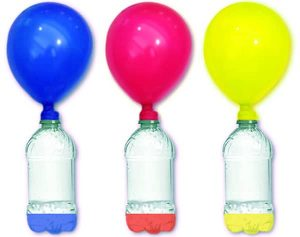 Balloon fizz inflator