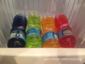 Instant Ice experiment Teach Preschool