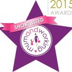 Shorlisted in mumandworking.co.uk awards