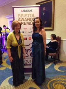 Me and my mum at the Venus Awards