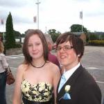 me and James