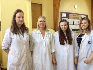 Fun Science franchisees at a science holiday club