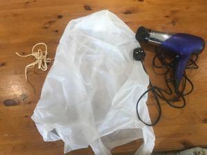 hot air balloon bag equipment