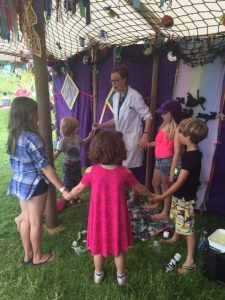 Fun Science at Wonderfields Festival