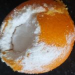 Mummifying an orange