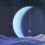 Uranus from Umbriel